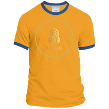 Navy/Gold XIITribe Ringer Tee