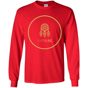 Red XIITribe Boy's LS T-Shirt
