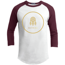White/Gold XIITribe Boy's Sporty T-Shirt