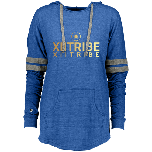 XIITribe Ladies Hooded Low Key Pullover
