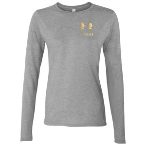 Grey XIItribe Ladie's LS T-Shirt