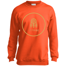 Orange XIItribe Boy's Crewneck Sweatshirt
