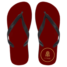 Red XIItribe Flip Flops - Large
