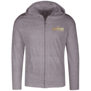 XIITribe Men's Lightweight Full Zip Hoodie