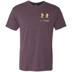 Vintage Purple XIITribe Men's Triblend T-Shirt