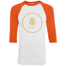 White/Orange XIITribe Boy's Raglan Jersey