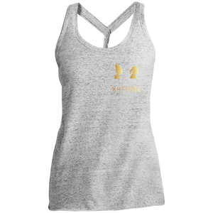 XIItribe Ladies Cosmic Twist Back Tank