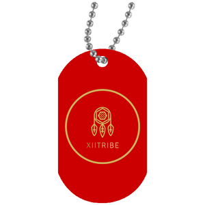 White XIItribe UN5588 Dog Tag