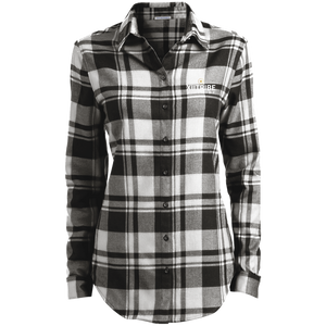 XIItribe Ladies' Plaid Flannel Tunic