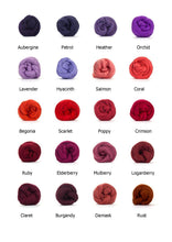 "Load image into Gallery viewer, 26"" Merino Round Rug - Classic Colours - No Needles Needed Chunky Knits"