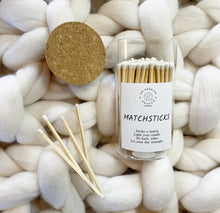 Load image into Gallery viewer, Jar of 100 Matchsticks - No Needles Needed Chunky Knits