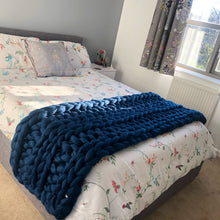 Double Bed Merino Runner - Classic Colours - Double Rib - No Needles Needed Chunky Knits