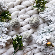 PRE ORDER - Limited Edition Handmade Woolly Bauble - No Needles Needed Chunky Knits