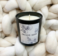 Load image into Gallery viewer, Orchid Noir Candle - No Needles Needed Chunky Knits