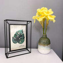 Load image into Gallery viewer, Rio Glaze Green Vase - No Needles Needed Chunky Knits
