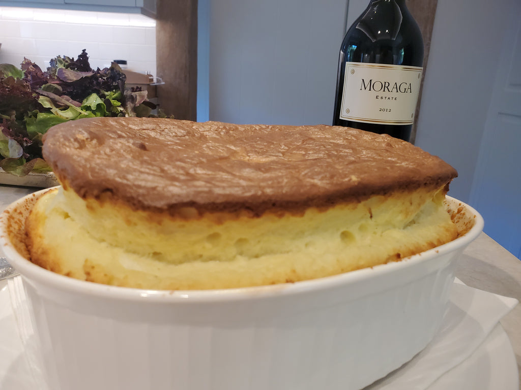 Cheese soufflé on Flag Day🥂💋