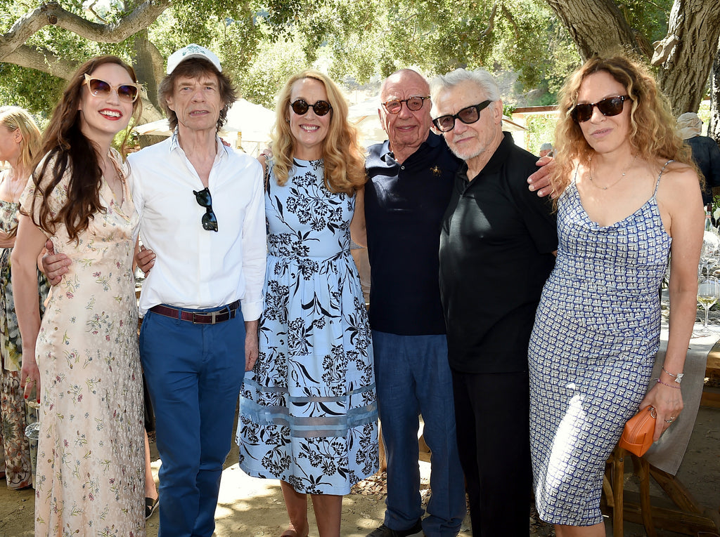 LA Times: Rupert and Jerry Murdoch, Mick Jagger celebrate Moraga Bel Air's 30th anniversary