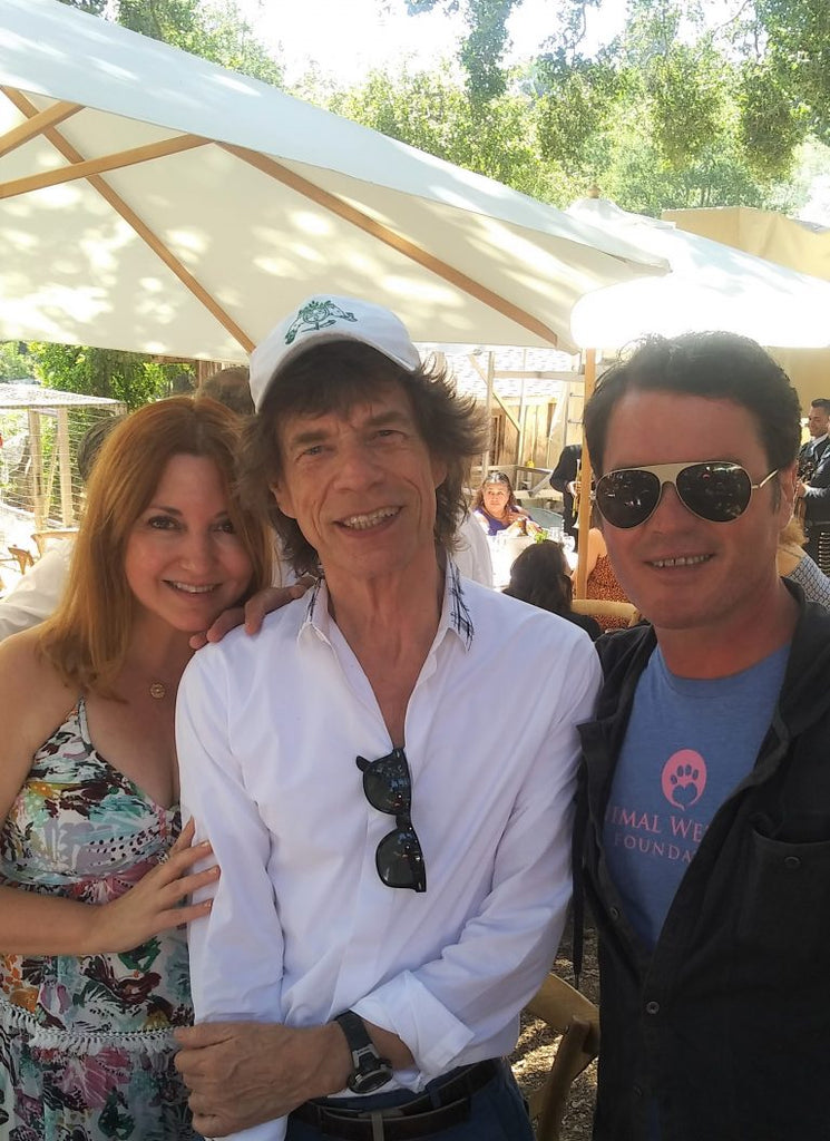 azureazure: Rupert Murdoch, Jerry Murdoch And Mick Jagger celebrate Moraga Bel Air's 30th anniversary