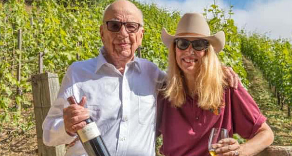The Guardian: Chateau Murdoch: Fox media mogul finds solace at his Bel-Air winery