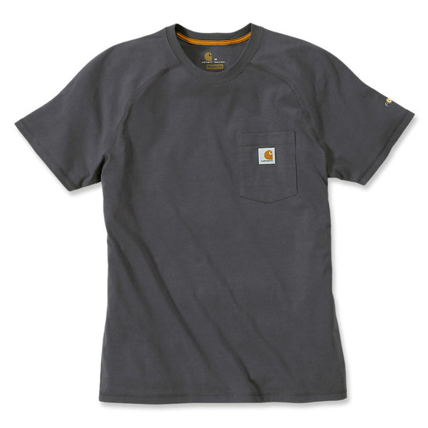 FORCE COTTON DELMONT SHORT-SLEEVE T-SHIRT Carbon Heather