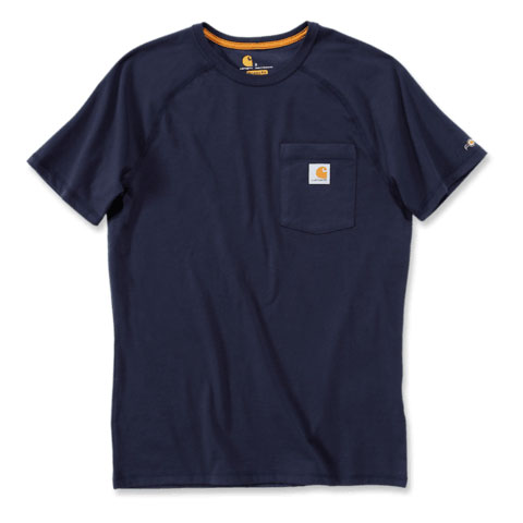 FORCE COTTON DELMONT SHORT-SLEEVE T-SHIRT Navy