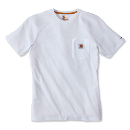 FORCE COTTON DELMONT SHORT-SLEEVE T-SHIRT White