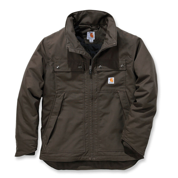 QUICK DUCK® JEFFERSON TRADITIONAL JACKET Dark Coffee