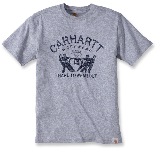MADDOCK HARD TO WEAR OUT T-SHIRT Heather Grey