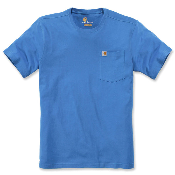 WARM WEATHER POCKET T-SHIRT Bolt Blue