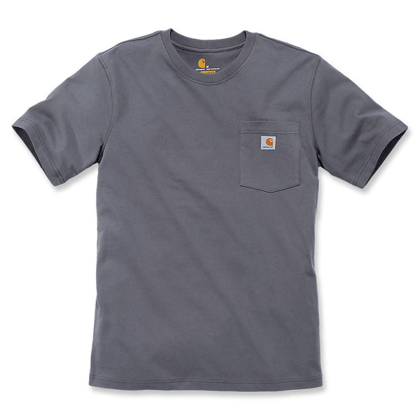WORKWEAR POCKET T-SHIRT Charcoal