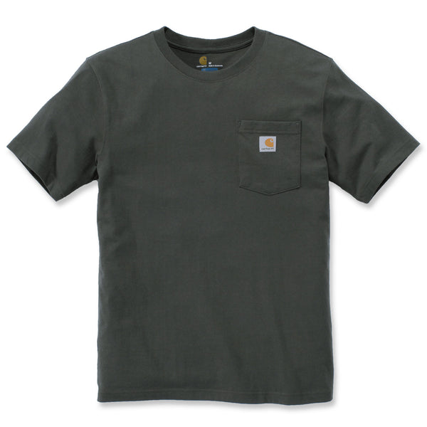 WORKWEAR POCKET T-SHIRT Olivine Heather