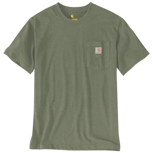 WORKWEAR POCKET T-SHIRT Winter Moss Heather