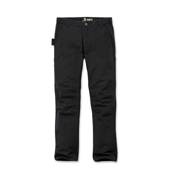 STRAIGHT FIT STRETCH DUCK DUNGAREE Black