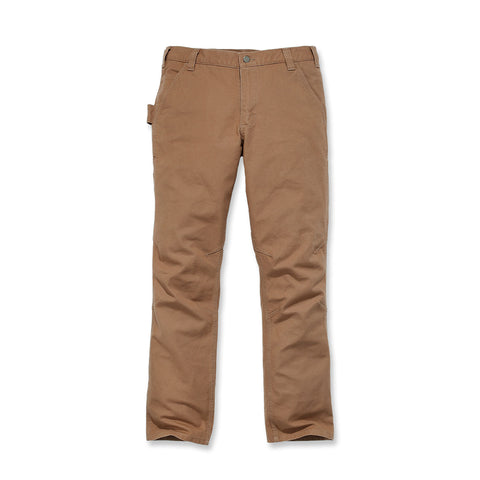 STRAIGHT FIT STRETCH DUCK DUNGAREE Carhartt Brown