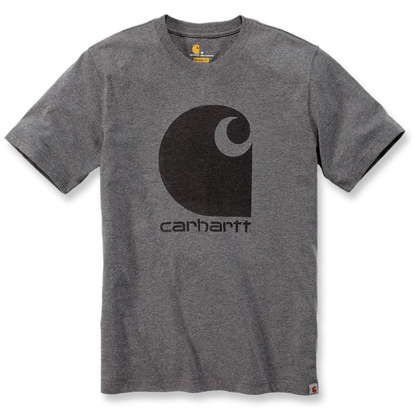 WORKWEAR C-LOGO T-SHIRT Granite Heather