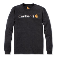 WORKWEAR SIGNATURE GRAPHIC LS T-SHIRT Carbon Heather