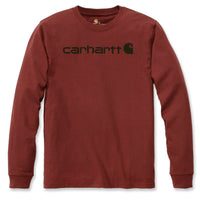 WORKWEAR SIGNATURE GRAPHIC LS T-SHIRT Dark Barn Red Heather
