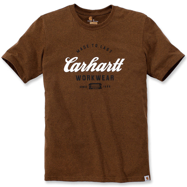 WORKWEAR MADE TO LAST T-SHIRT Oiled Walnut Heather