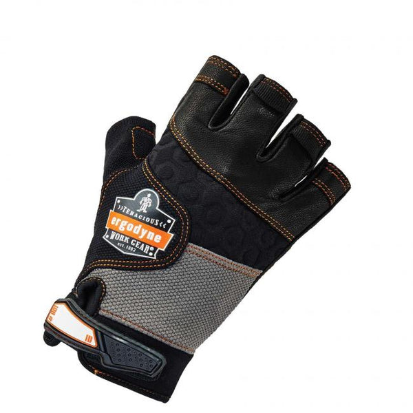 ProFlex® 901 Half-Finger Leather Impact Gloves