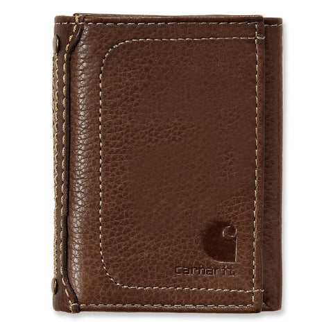 TRI FOLD WALLET Brown
