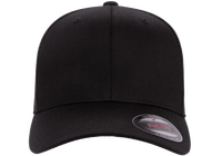 Flexfit Fitted Baseball Cap Black