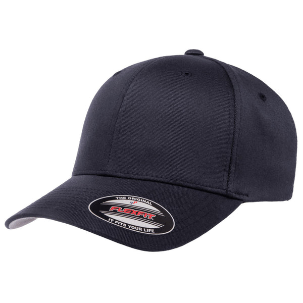 Flexfit Fitted Baseball Cap Dark Navy