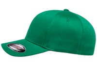 Flexfit Fitted Baseball Cap Pepper Green