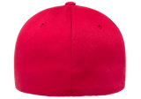 Flexfit Fitted Baseball Cap Red