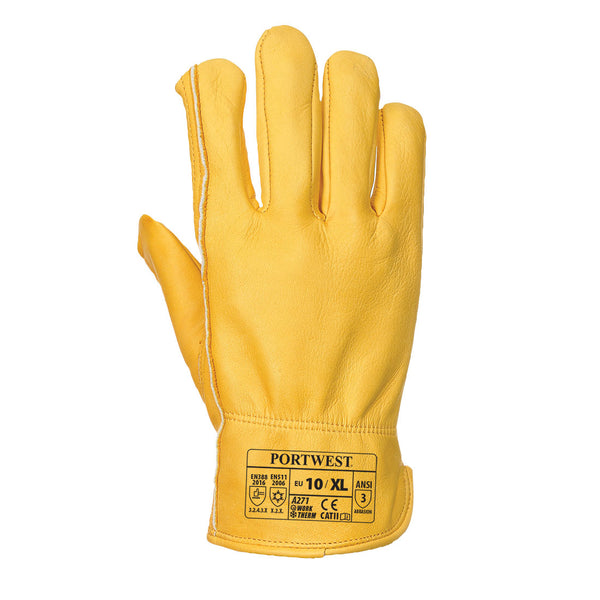 Lined Driver Leather Glove