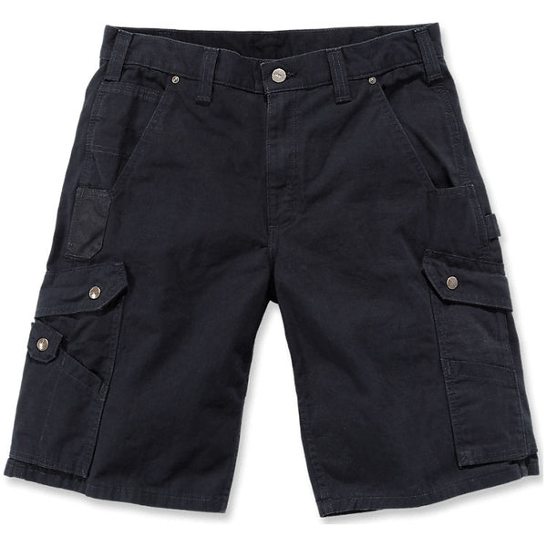 RIPSTOP CARGO WORK SHORTS Black