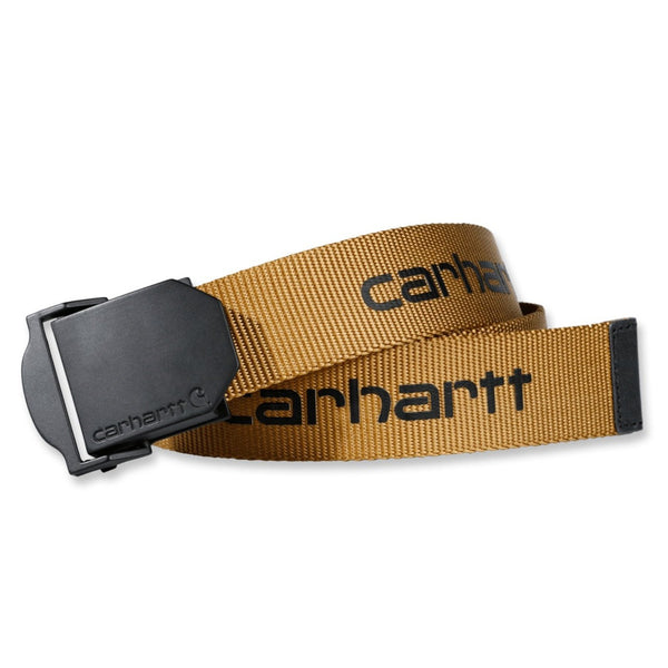 WEBBING BELT Carhartt Brown