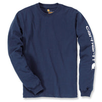SIGNATURE SLEEVE LOGO LONG-SLEEVE T-SHIRT Navy