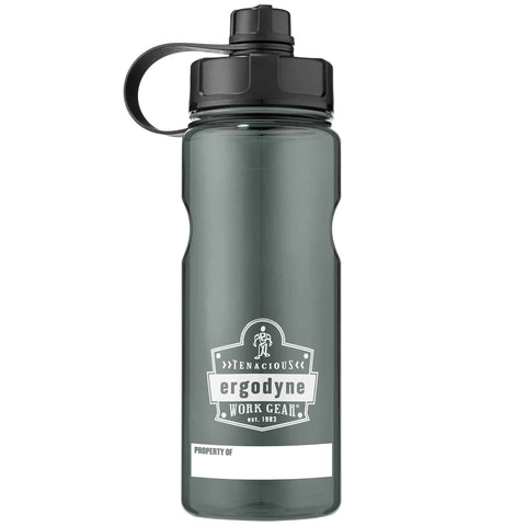 Chill-Its® BPA-Free Water Bottle 1 Litre Grey