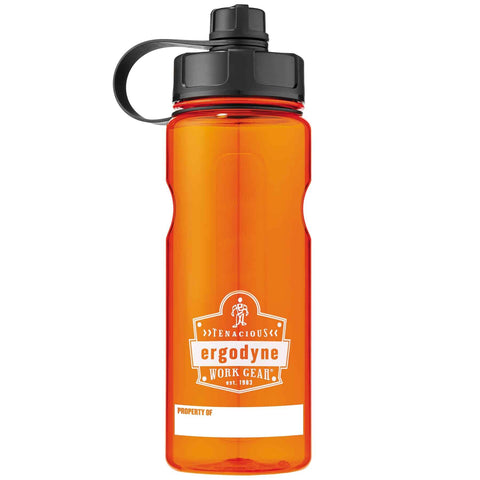 Chill-Its® BPA-Free Water Bottle 1 Litre Orange